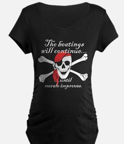 Pirate Morale Maternity T-Shirt