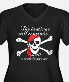 Pirate Morale Plus Size T-Shirt