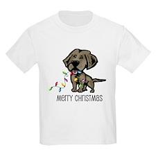 Christmas Chesapeake Kids T-Shirt