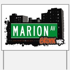 Marion Ave Yard Sign
