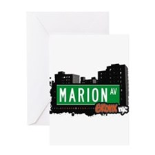 Marion Ave Greeting Card