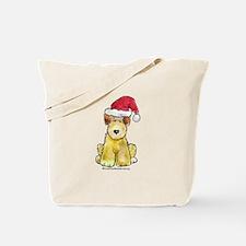 Doodle Santa Hat Tote Bag