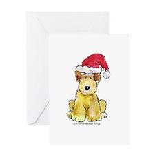 Doodle Santa Hat Greeting Card