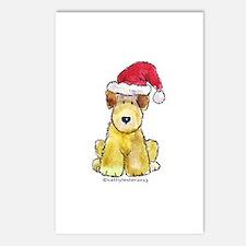 Doodle Santa Hat Postcards (Package of 8)
