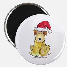 Doodle Santa Hat Magnet