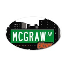 McGraw Ave Wall Decal