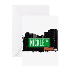 MICKLE AV Greeting Card