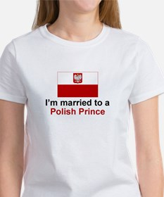 Married To A Polish Prince Tee