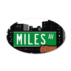Miles Ave Wall Decal