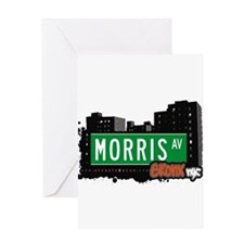 Morris Ave Greeting Card