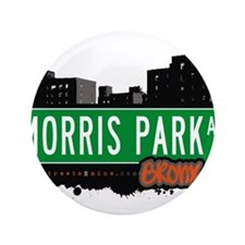 """Morris Park Ave 3.5"""" Button"""