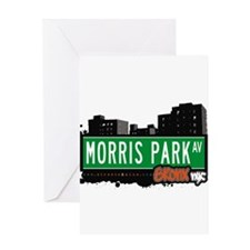 Morris Park Ave Greeting Card