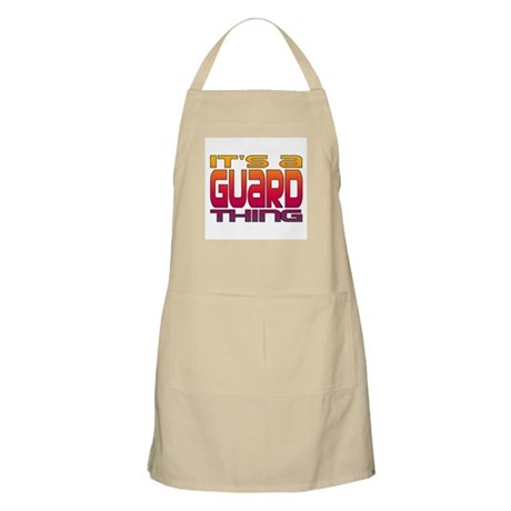 It's a Guard Thing BBQ Apron