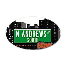N Andres Av South Wall Decal