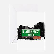 N Andres Av South Greeting Card