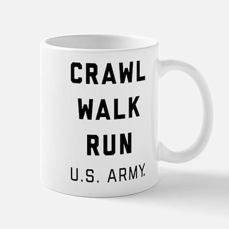 U.S. Army Crawl Walk Run Mug