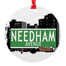 Needham Ave Ornament
