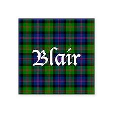 "Tartan - Blair Square Sticker 3"" x 3"""