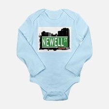 Newell St Long Sleeve Infant Bodysuit