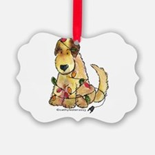 Doodle Holiday Lights Ornament