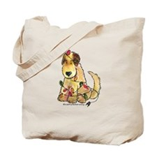 Doodle Holiday Lights Tote Bag