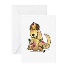 Doodle Holiday Lights Greeting Card