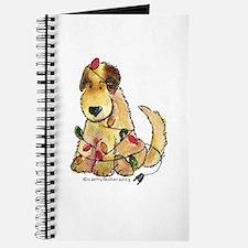 Doodle Holiday Lights Journal