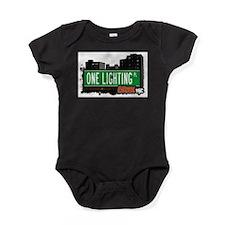 One Lighting Pl Baby Bodysuit