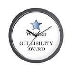 The GullibIlity Award - Wall Clock