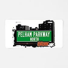 Pelham Parkway North Aluminum License Plate