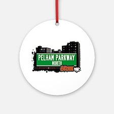 Pelham Parkway North Ornament (Round)