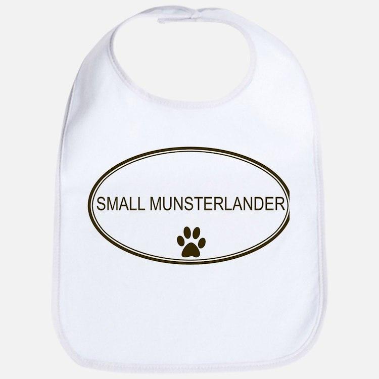 Oval Small Munsterlander Bib