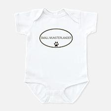 Oval Small Munsterlander Infant Bodysuit