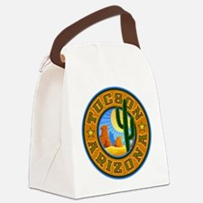 Tucson Desert Circle2.png Canvas Lunch Bag