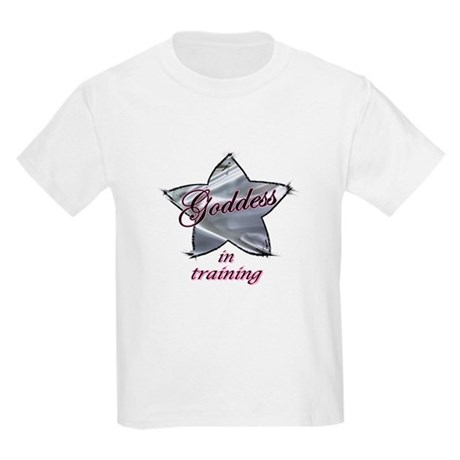 GODDESS IN TRAINING Kids T-Shirt