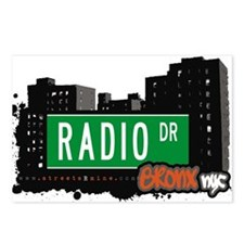 Radio Dr Postcards (Package of 8)