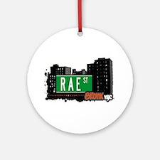 Rae St Ornament (Round)