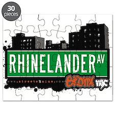 Rhinelander Ave Puzzle
