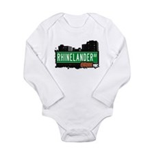 Rhinelander Ave Long Sleeve Infant Bodysuit