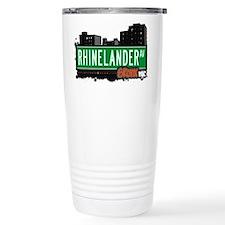 Rhinelander Ave Travel Coffee Mug
