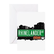 Rhinelander Ave Greeting Card