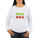 Nog Hog Women's Long Sleeve T-Shirt