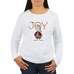 Santa Joy Women's Long Sleeve T-Shirt