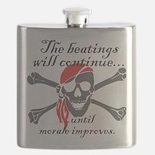 Morale Beatings Flask