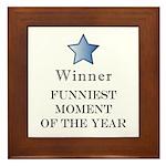 The Comedy Award - Framed Tile