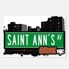 Saint Anns Ave Postcards (Package of 8)