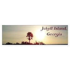 Jekyll Island, Georgia Sunrise Bumper Bumper Sticker