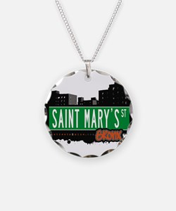 Saint Marys St Necklace