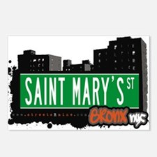 Saint Marys St Postcards (Package of 8)