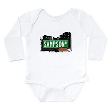 Sampson Ave Long Sleeve Infant Bodysuit